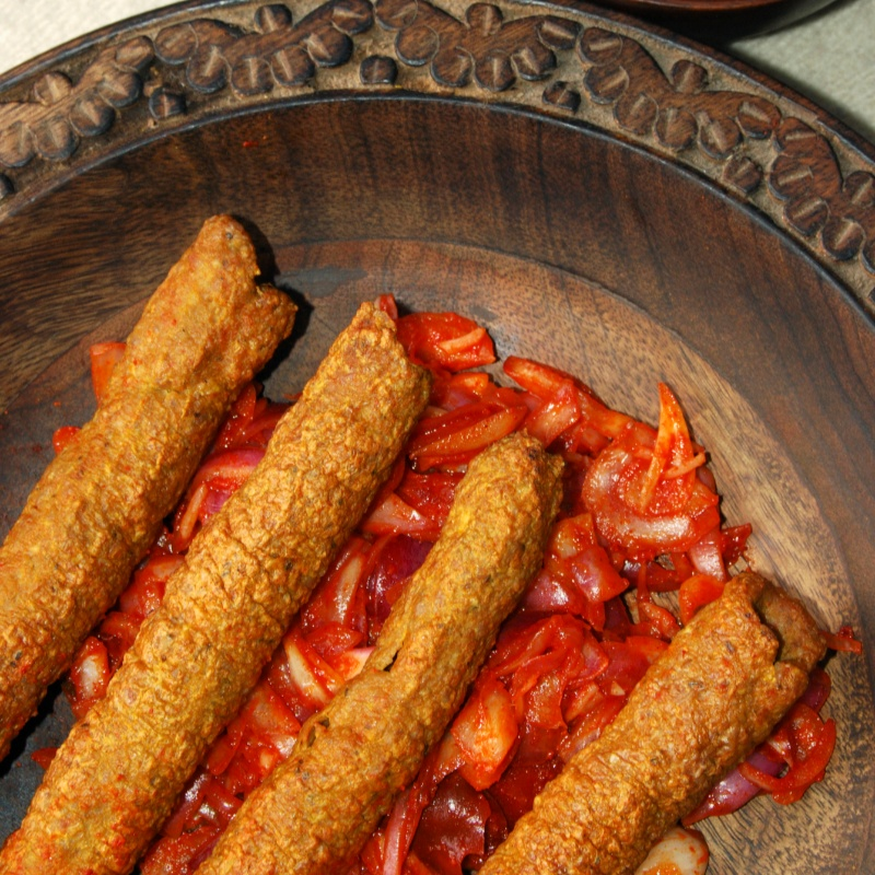 Photo of Kashmiri Seekh Kebab by Bindiya Sharma at BetterButter