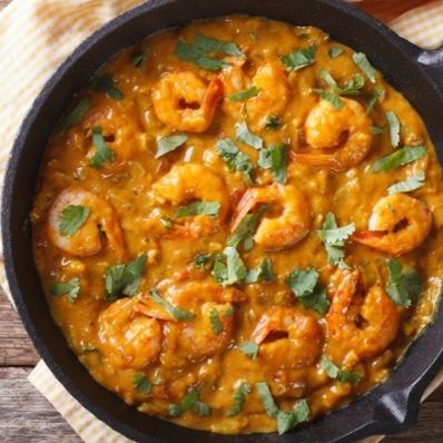 Photo of Jamaican Shrimp in a creamy curry sauce by Bindiya Sharma at BetterButter