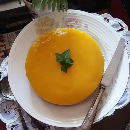Photo of Mango Mascarpone Cheesecake by Bindiya Sharma at BetterButter