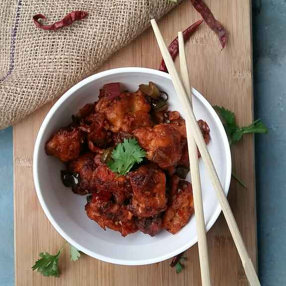 How to make Gobhi Manchurian(Dry)