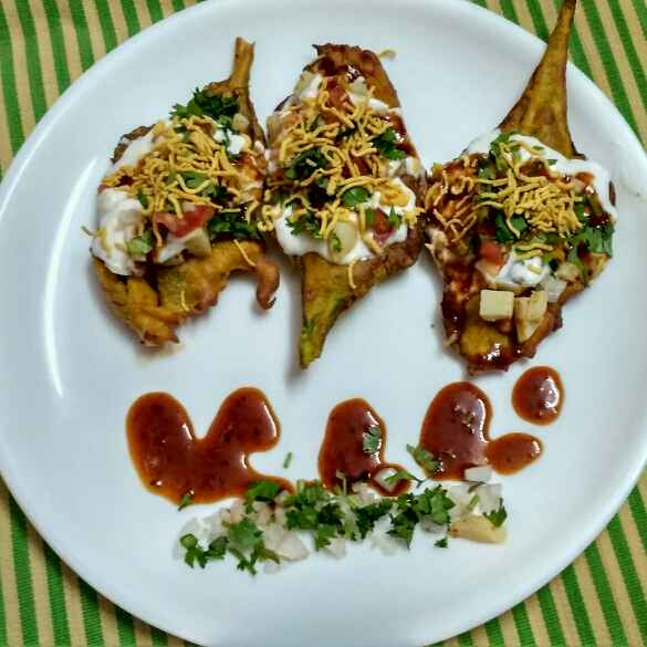 How to make SPINACH PAKODA CHAT