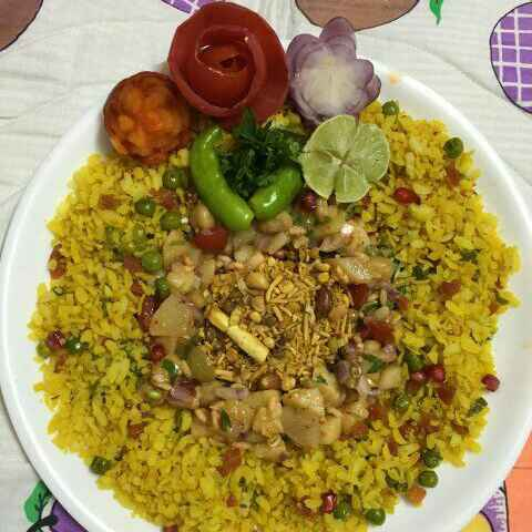 How to make POHA IN MY STYLE