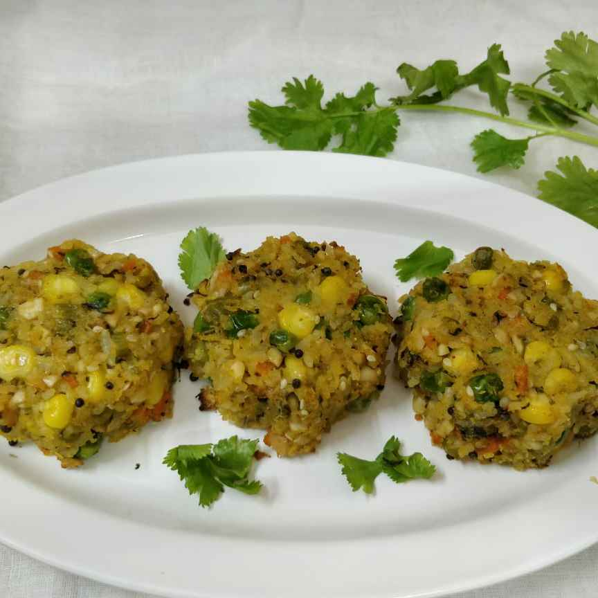 Photo of Savoury Rice Cup Cake by Binny Kalra at BetterButter