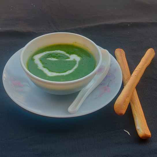 Photo of Spinach mint soup by Binny Kalra at BetterButter