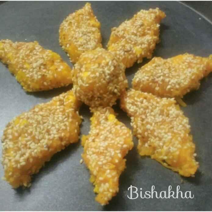 Photo of Papaya Sabudana Barfi by Bishakha Kumari Saxena at BetterButter