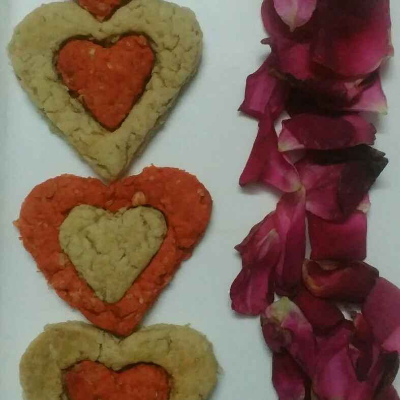 How to make Oats Rose Cookies