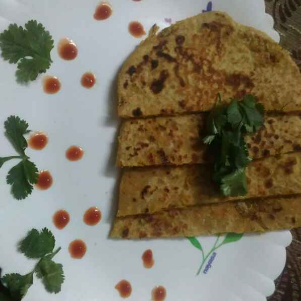 How to make Mixed Vegetables Paratha