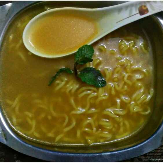 How to make Maggi Soup