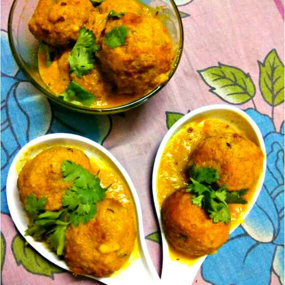 Photo of Kathal ke bharva kofte by Bishakha Kumari Saxena at BetterButter