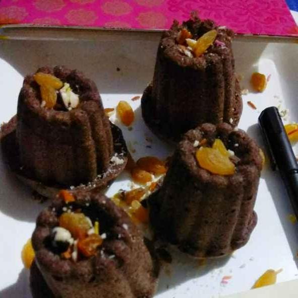Photo of Bajra shahad muffins by Bishakha Kumari Saxena at BetterButter