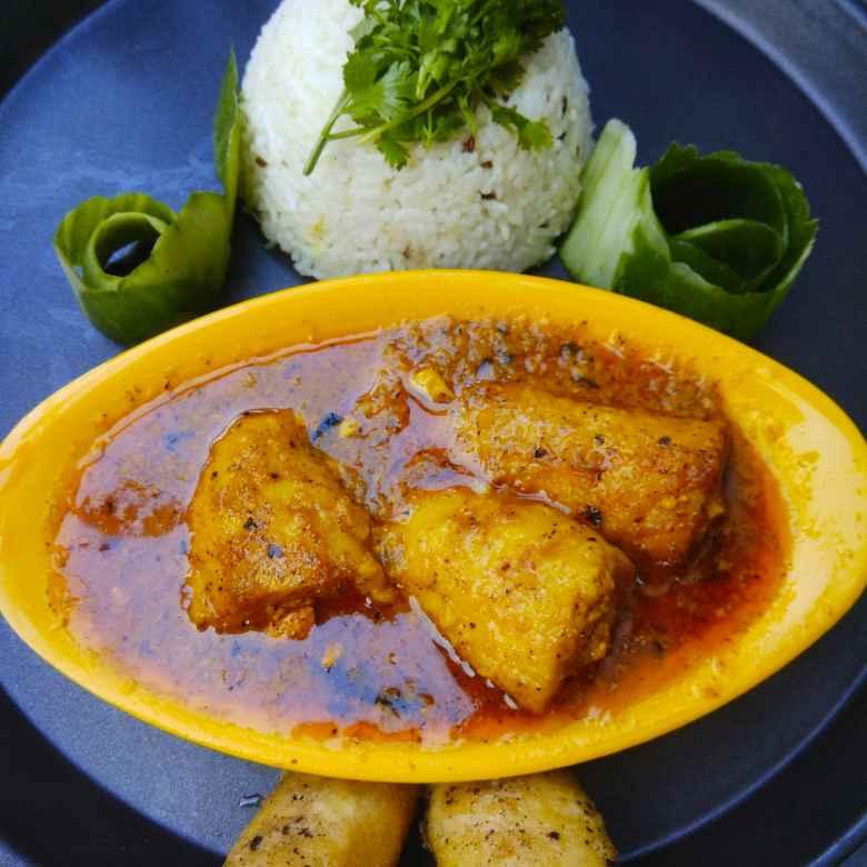 Photo of Stuffed Soya Chaap in Yellow gravy by Bishakha Kumari Saxena at BetterButter