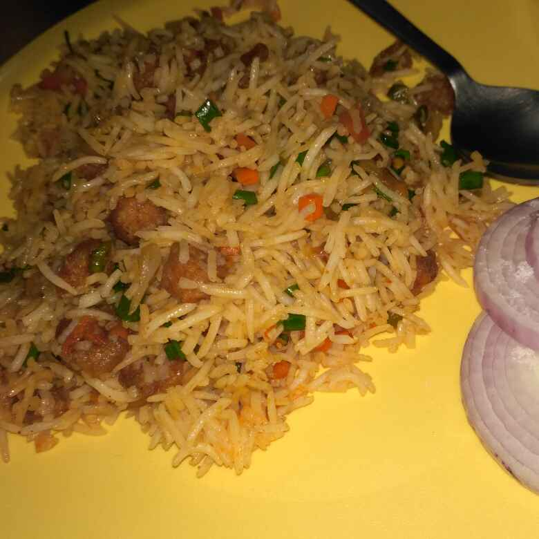 Photo of Soya tawa fried rice by Bishnu Priya at BetterButter