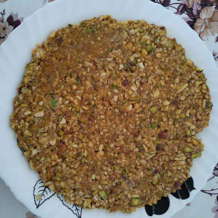 Photo of Dry Fruit chikki by Bhavna Bhatia at BetterButter