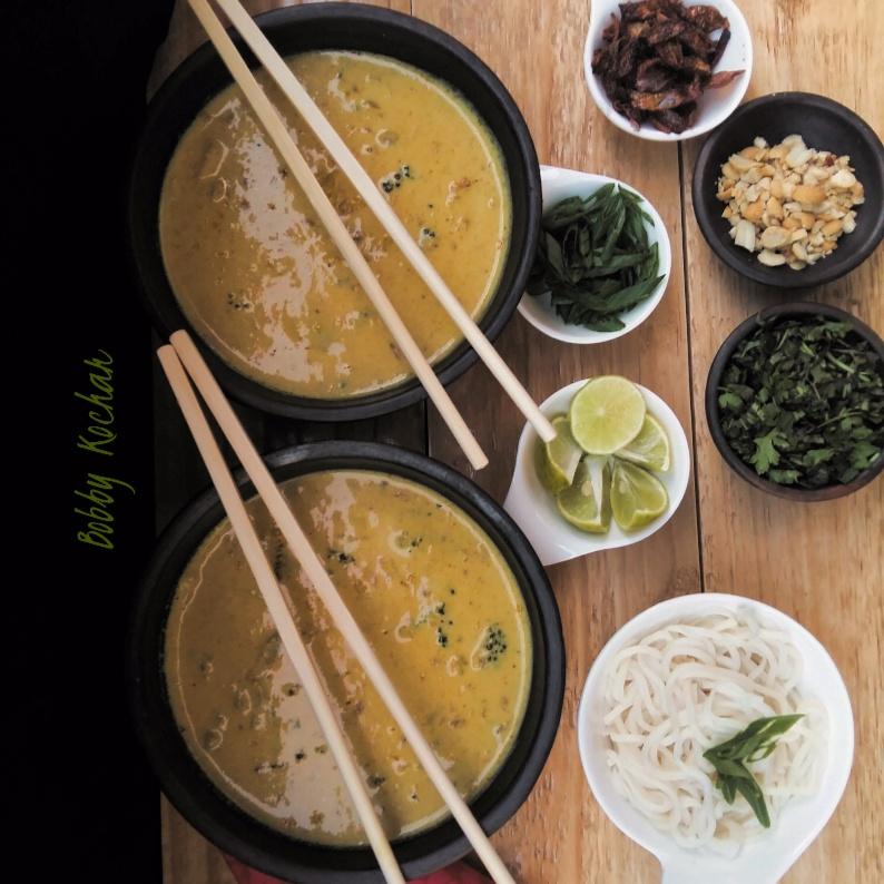 How to make Khao suey