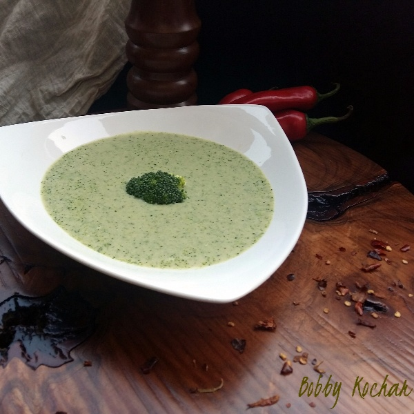 How to make Cream of Broccoli soup