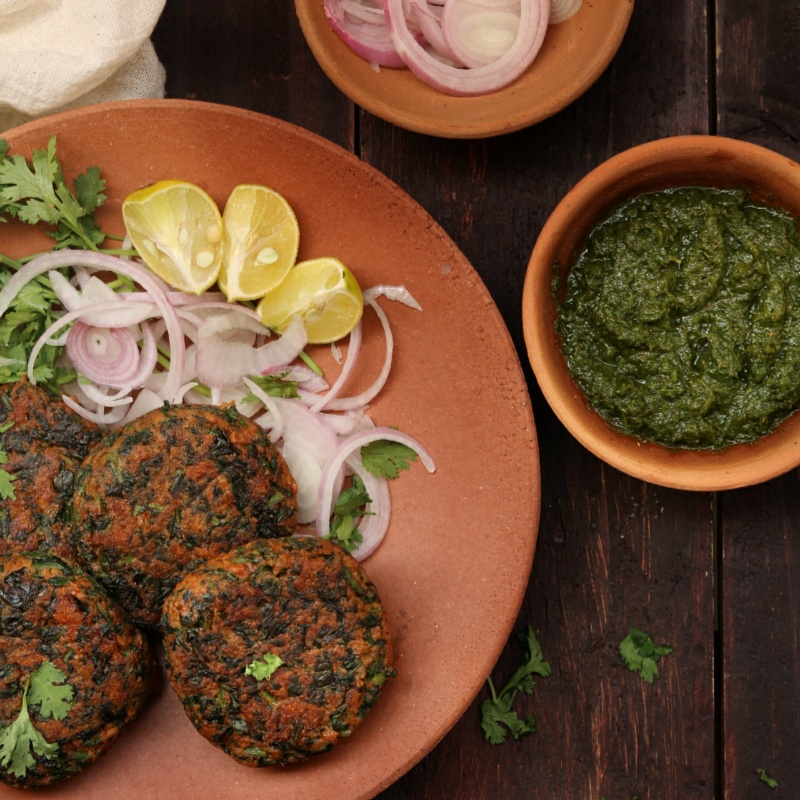 How to make Spinach and Oats Kebabs
