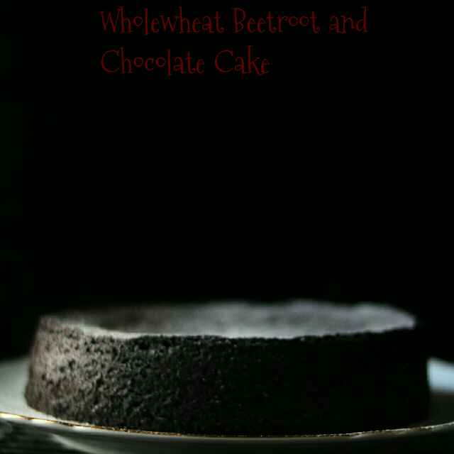 How to make Wholewheat Beetroot And Chocolate Cake