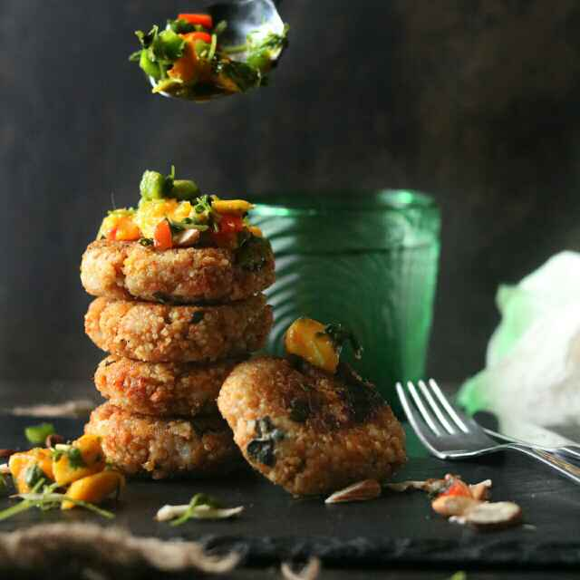 How to make Quinoa and Almond Patties