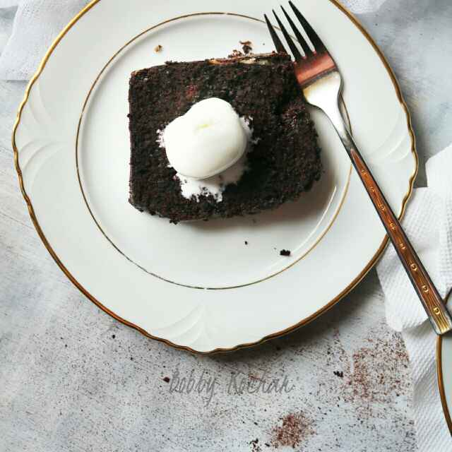 Photo of Double Chocolate Pumpkin Loaf Cake by Bobby Kochar at BetterButter