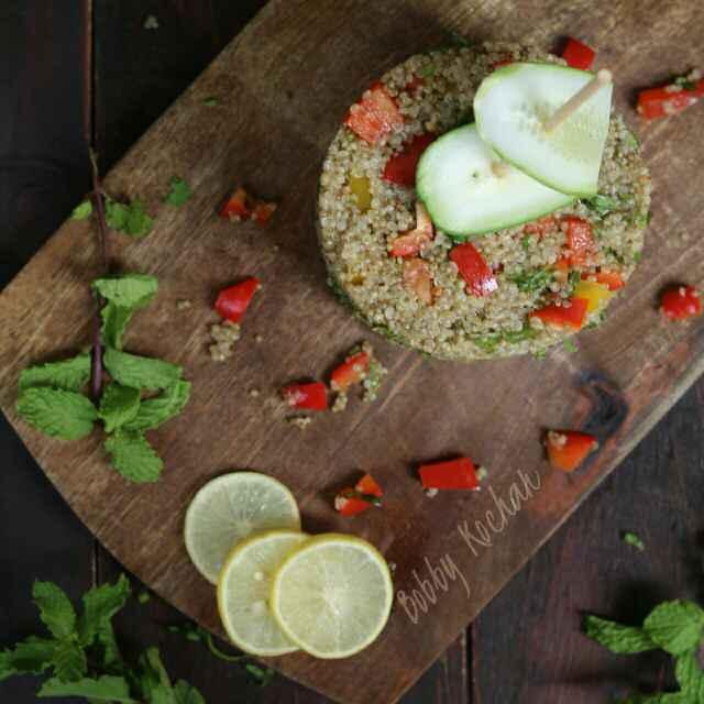 How to make Quinoa Tabulleh