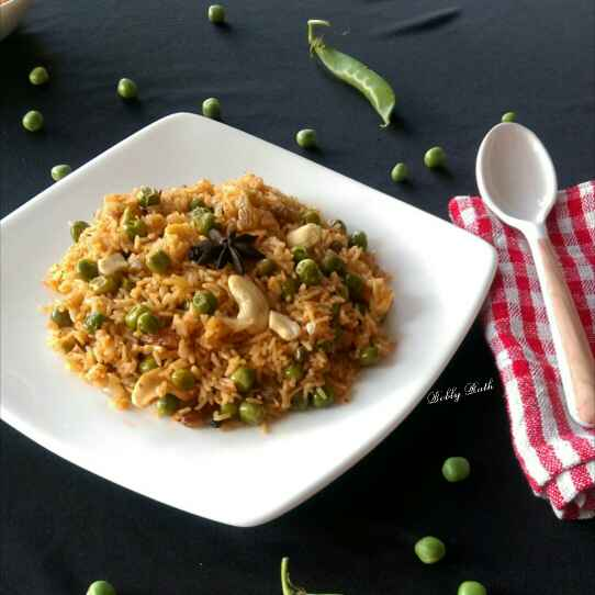 Photo of Spicy green peas pulao by Bobly Rath at BetterButter