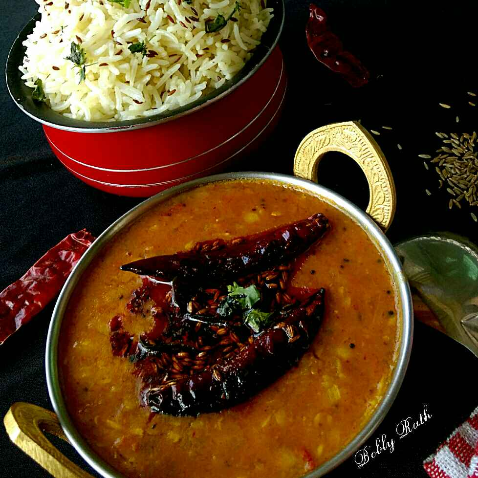 How to make Jeera rice and dal tadka