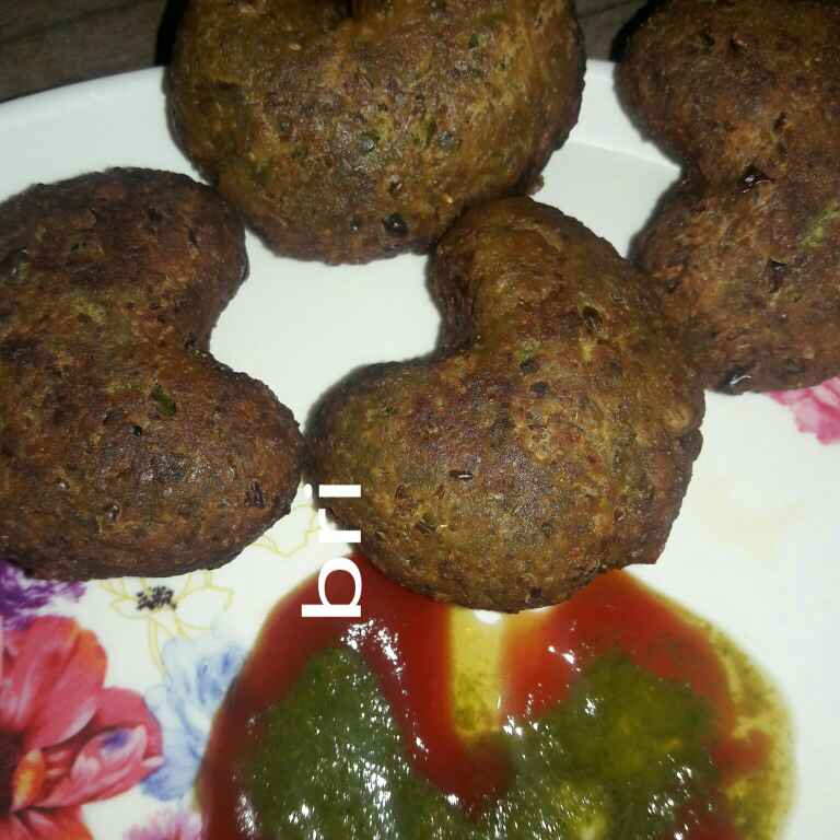 How to make Crispy Peas Cutlet