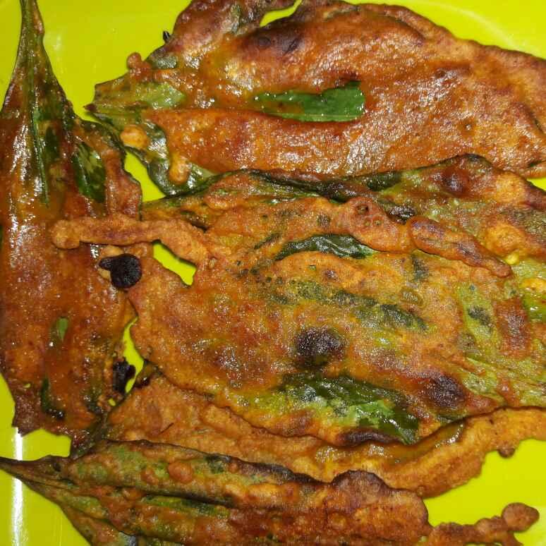 How to make Spinach Leaf Pakoda