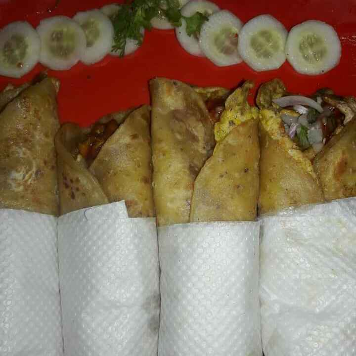 How to make Egg Chicken Roll