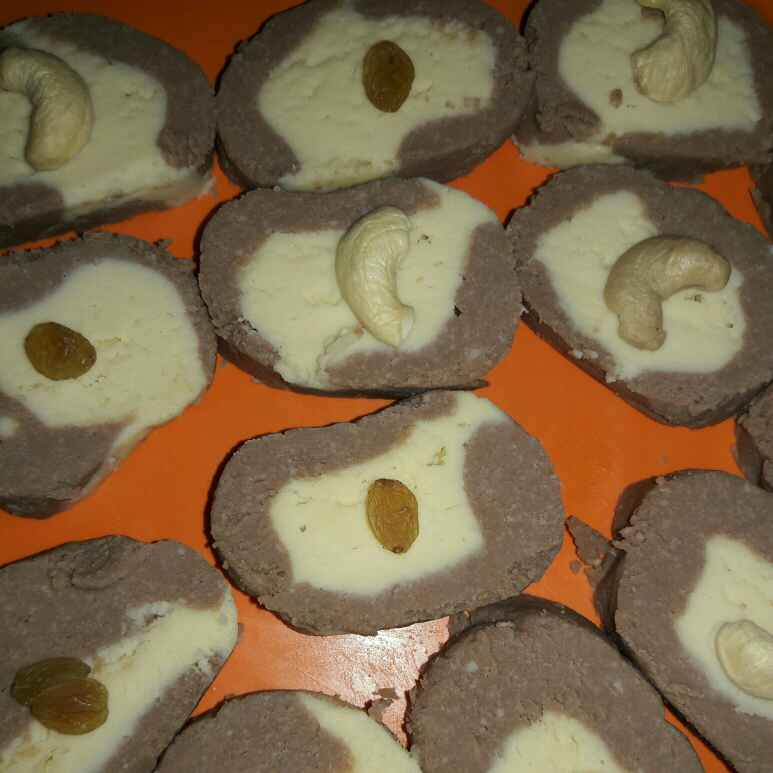 How to make 2 in 1 Sandesh..