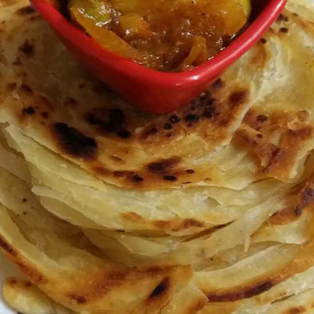 Photo of Lachha Parantha.. by brishti ghosh at BetterButter