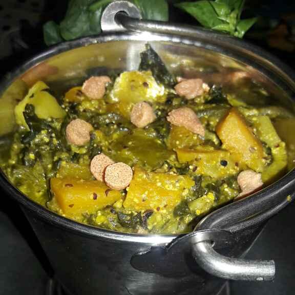 How to make Pui Saag/Malabar spinach