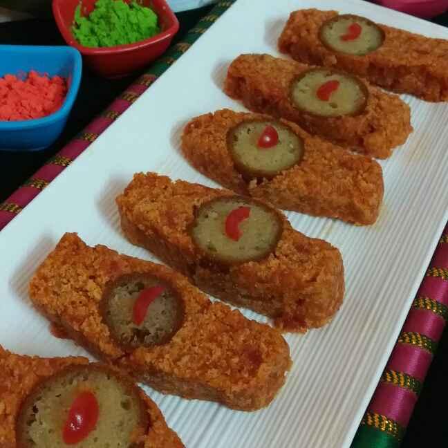 How to make Gulab jamun stuffed Carrot Sandesh