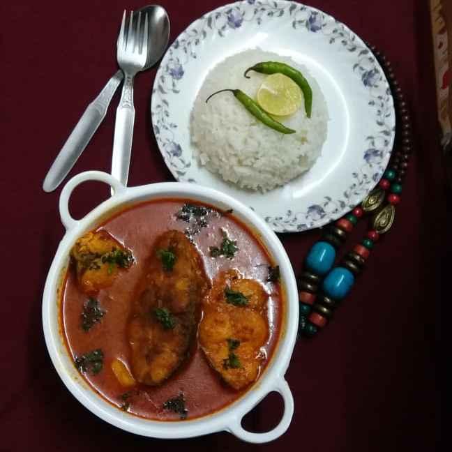 How to make Sahi Fish Kalia...