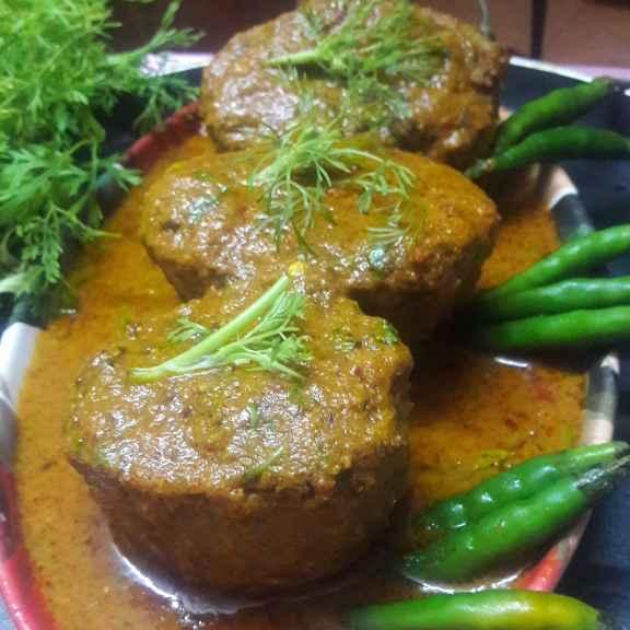 How to make Rajma stuffed Potato gravy...
