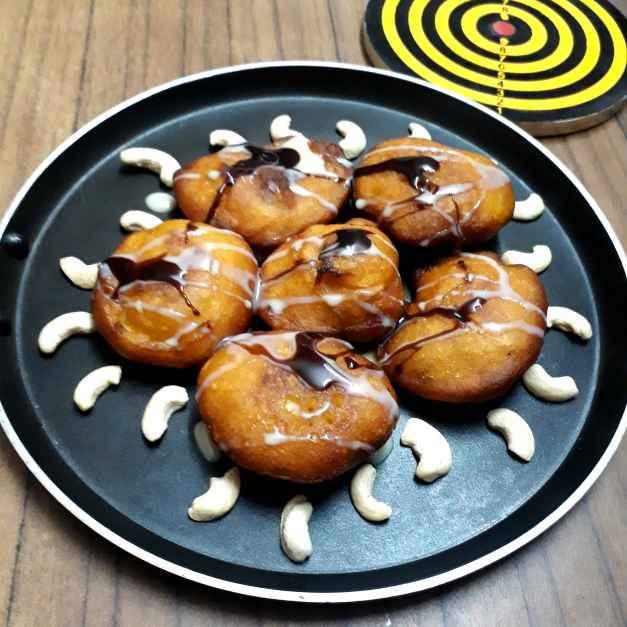 How to make Mango Pua Pitha...