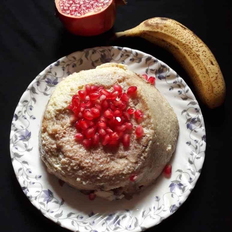Photo of Pomegranate Banana Pudding by brishti ghosh at BetterButter