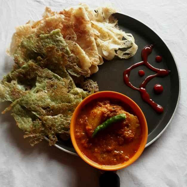 How to make Chhit ruti or Chhit pitha