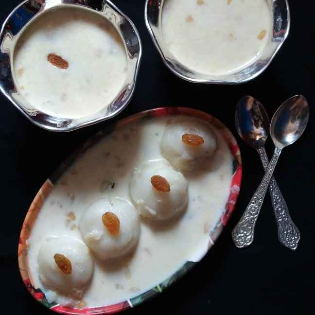 Photo of Traditional Kheera Manda with Left over Sandesh by brishti ghosh at BetterButter