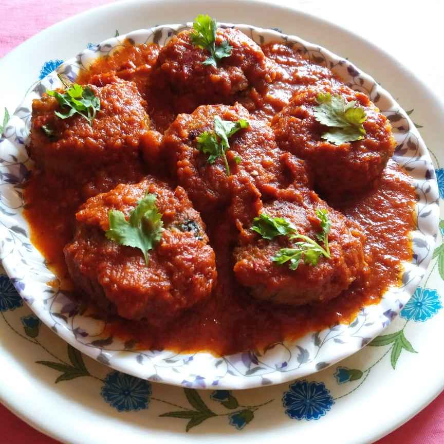 Photo of Raw Banana Kofta Curry by brishti ghosh at BetterButter
