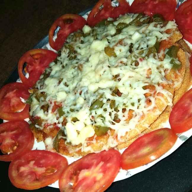 Photo of Maize Flour Pizza by brishti ghosh at BetterButter