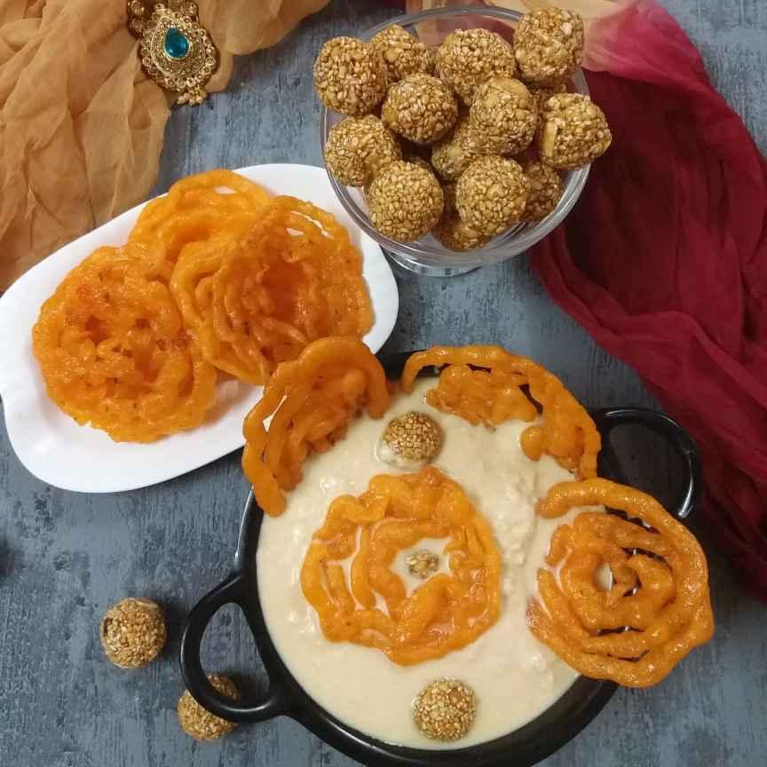 How to make NolenGur Rabdi Jalebi...