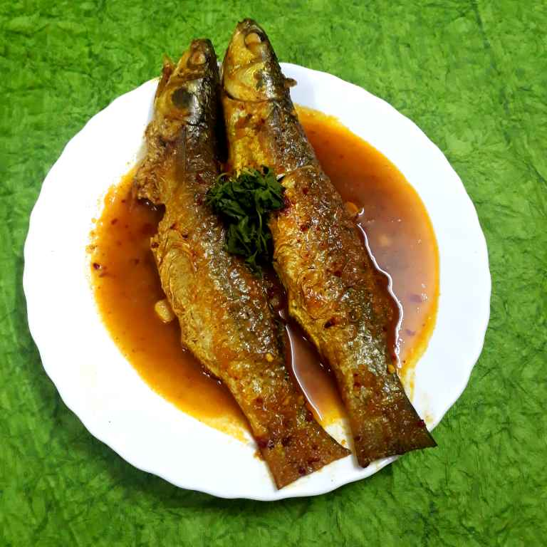 Photo of Parshe fish in Pickle Oil by Brishtis kitchen at BetterButter