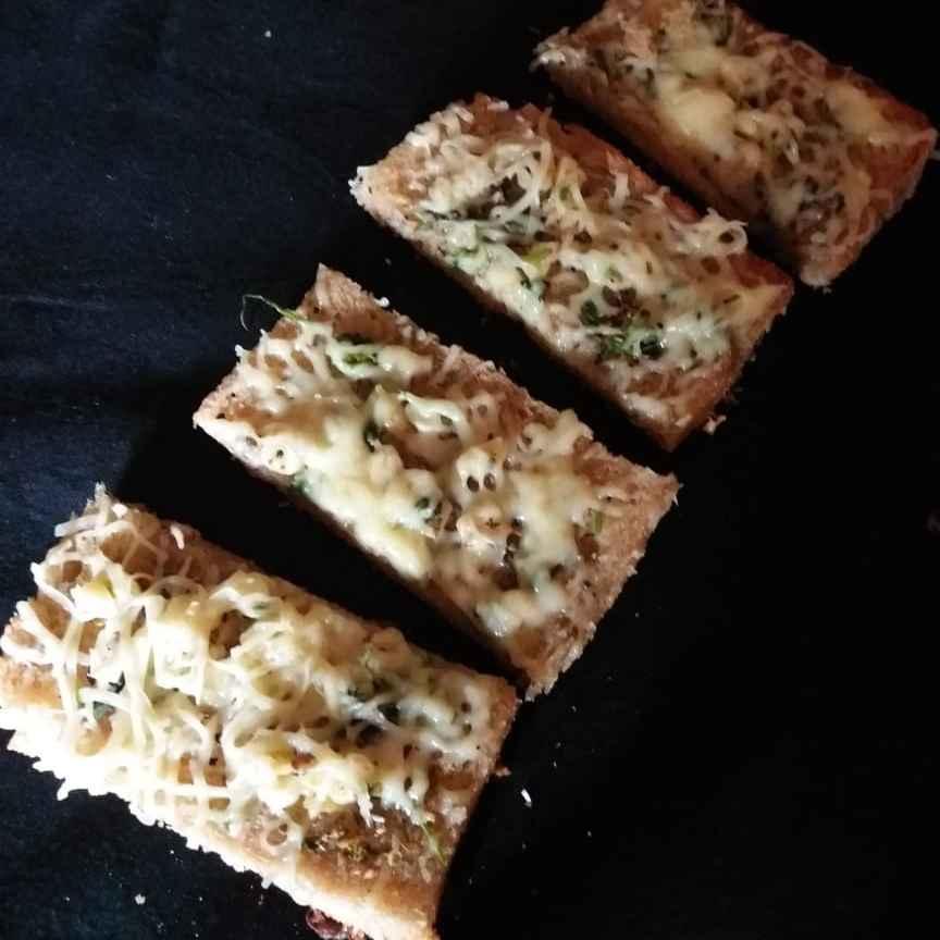 How to make Garlic Cheesy Bread...