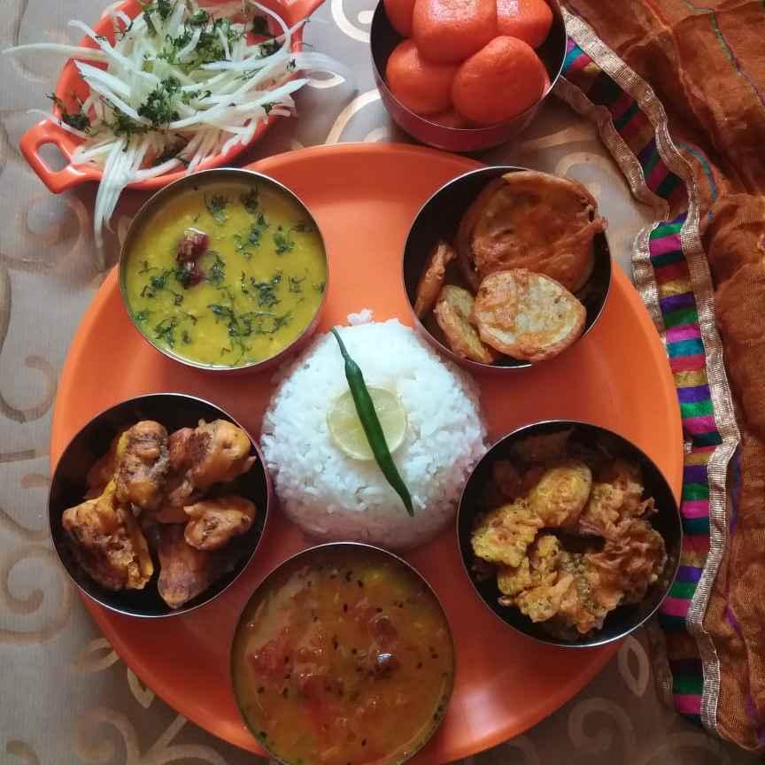 Photo of Veg Thali in 20 mins... by Brishtis kitchen at BetterButter