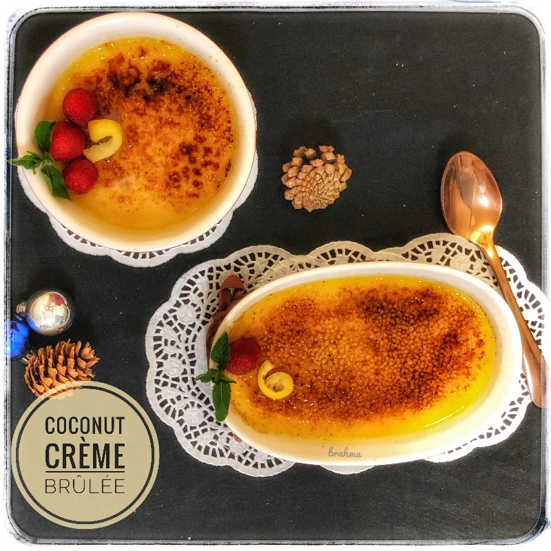 How to make Coconut Crème brûlée
