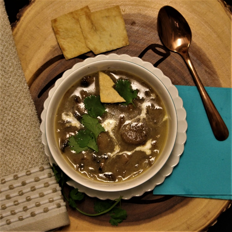 Photo of Creamy Mushroom Soup by Bulbul Majumder at BetterButter