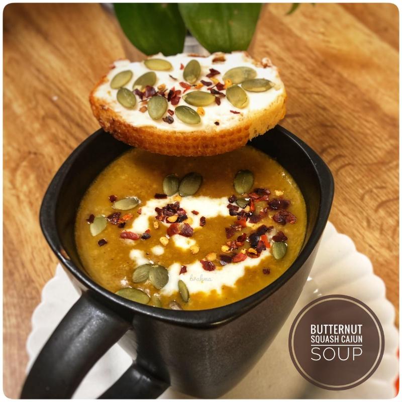 Photo of Butternut Squash Cajun Soup by Bulbul Majumder at BetterButter