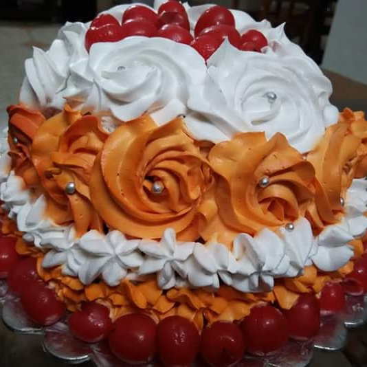 How to make Rose Cake