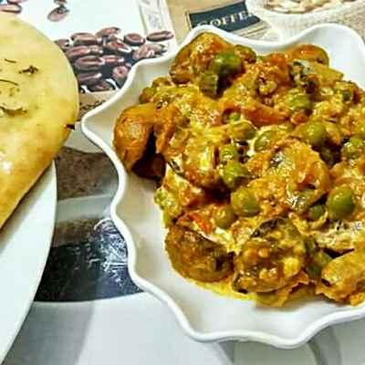 How to make মটর মাশরুম